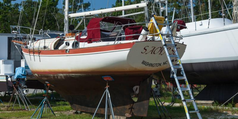 Life in a Boatyard: Fish Out Of Water
