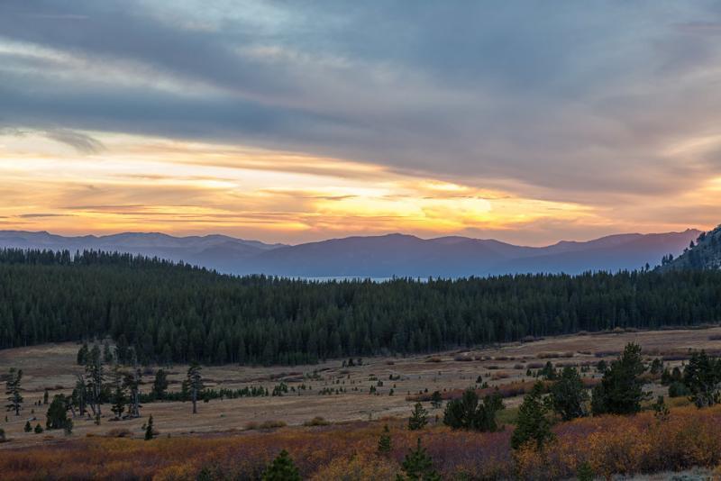 Tahoe Meadows Sunset
