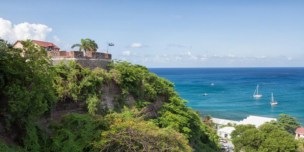 St. Eustatius: Fort Oranje