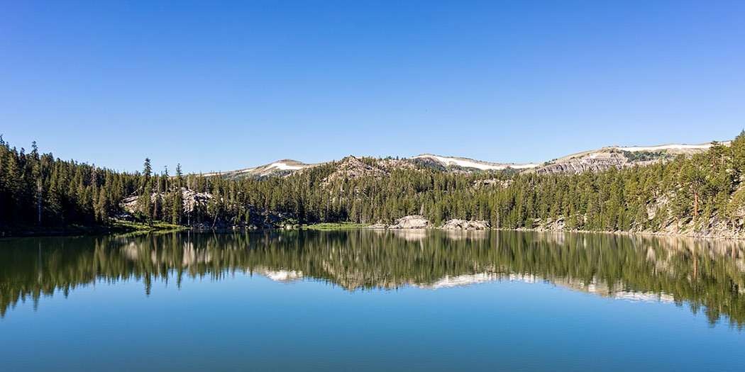South Lake Tahoe Hiking Trails: Round Lake from Big Meadow