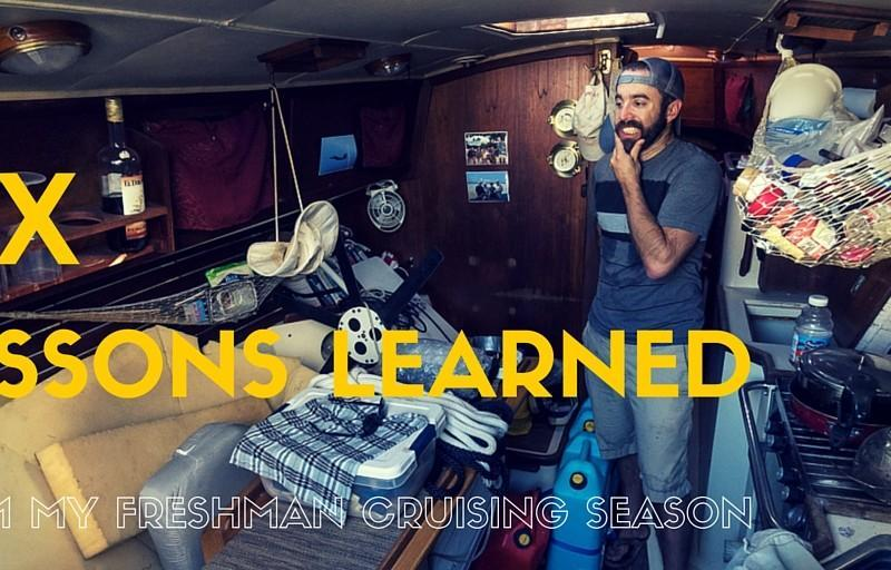 Six Things I Learned From My Freshman Cruising Season