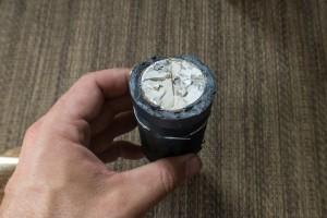 broken depth sounder