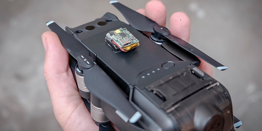 Increasing Mavic Air Drone Visibility with the Strobon Micro Light