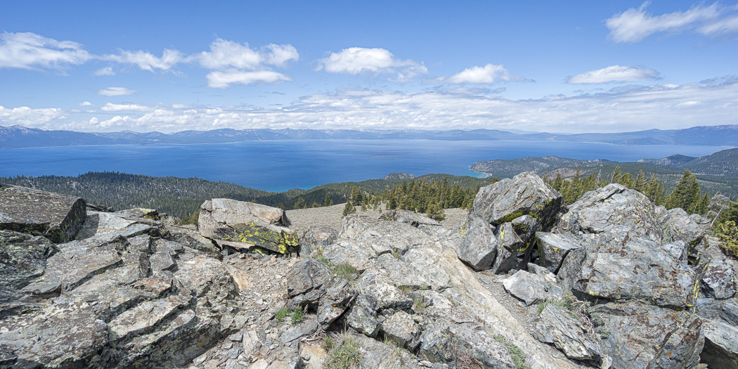 Tahoe Rim Trail Day Hikes: Spooner to South Camp Peak