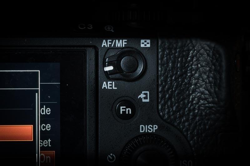 AF AEL button